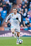 Gareth Bale of Real Madrid in action during the La Liga 2017-18 match between Real Madrid and Deportivo Alaves at Santiago Bernabeu Stadium on February 24 2018 in Madrid, Spain. Photo by Diego Souto / Power Sport Images