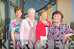 Hanna O'Sulivan, Noreen Hanafin, Anne Cahill and Noreen O'Riordan from Failte PROBUS at their Fashion Show with Afternoon Tea in the Ballyroe Hotel yesterday  afternoon (Wednesday)