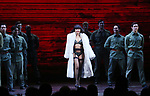 "Rachelle Ann Go and cast during The Opening Night Curtain Call Bows for the New Broadway Production of ""Miss Saigon"" at the Broadway Theatre on March 23, 2017 in New York City"