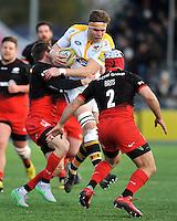 Saracens v Wasps, Aviva Premiership Rugby. Febuary 14, 2016