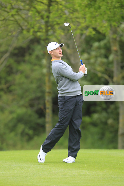 Oliver Fisher (ENG) during Thursday's Round 1 ahead of the 2016 Dubai Duty Free Irish Open Hosted by The Rory Foundation which is played at the K Club Golf Resort, Straffan, Co. Kildare, Ireland. 19/05/2016. Picture Golffile | TJ Caffrey.<br /> <br /> All photo usage must display a mandatory copyright credit as: &copy; Golffile | TJ Caffrey.