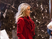 Fox News anchor Heather Childers is seen in the lobby of Trump Tower in New York, NY, USA on December 16, 2016. <br /> Credit: Albin Lohr-Jones / Pool via CNP