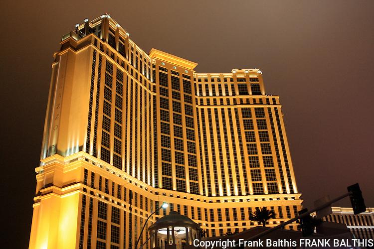 Talazzo at dusk in Las Vegas