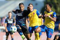 San Jose, CA - Sunday October 21, 2018: Danny Hoesen during a Major League Soccer (MLS) match between the San Jose Earthquakes and the Colorado Rapids at Avaya Stadium.