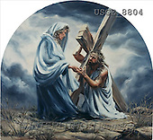 Dona Gelsinger, EASTER RELIGIOUS, paintings, Jesus, mother(USGE8804,#ER#) Ostern, religiös, Pascua, relgioso, illustrations, pinturas