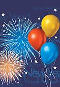 Sharon, CHRISTMAS SYMBOLS, WEIHNACHTEN SYMBOLE, NAVIDAD SÍMBOLOS, GBSS, paintings+++++,GBSSC50XNY4,#XX# ,New Year's Eve,firework