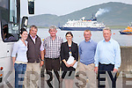 Valentia Island played host to the 'Island Sky' Cruse Liner on Sunday with passengers coming ashore for a South Kerry Tour, pictured here the guides and drivers who provided the service for the Nobel Caledonia Company l-r: Caroline Kissane, Denis Kissane, Tommy Cournane, Mary B.Murphy, Ger O'Leary & Jackie O'Sullivan.