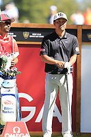 Hideto Tanihara (JPN) on the 6th tee during Saturday's Round 3 of the 2018 Omega European Masters, held at the Golf Club Crans-Sur-Sierre, Crans Montana, Switzerland. 8th September 2018.<br /> Picture: Eoin Clarke | Golffile<br /> <br /> <br /> All photos usage must carry mandatory copyright credit (&copy; Golffile | Eoin Clarke)