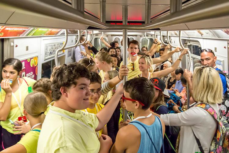 Washington DC / New York City 2016 Summer Vacation with C.O. Wilson Middle School, Nederland Texas.