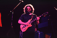 Jerry Garcia performing with the Grateful Dead in Concert at the Huntington Civic Center, Huntington West Virginia on 16 April 1978. Image No. 78C16-16