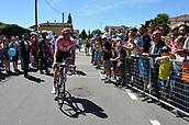 21st May 2017, Bergamo, Milan, Lombardy, Italy; Giro D Italia; stage 15 Valdengo to Bergamo; 2017, Team Sunweb; Dumoulin, Tom in Valdengo;