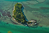 Aerial view of Island in Boca Grand, Gasparilla Islands, Florida Aerial views of artistic patterns in the earth.
