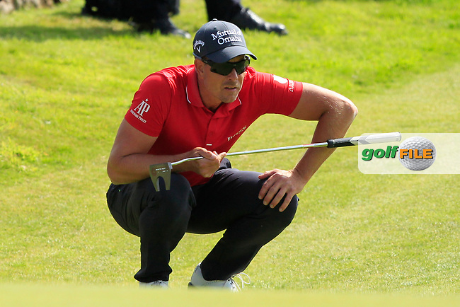 Henrick Stenson (SWE) on the 2nd during Round 4 of the Aberdeen Standard Investments Scottish Open 2019 at The Renaissance Club, North Berwick, Scotland on Sunday 14th July 2019.<br /> Picture:  Thos Caffrey / Golffile<br /> <br /> All photos usage must carry mandatory copyright credit (© Golffile | Thos Caffrey)
