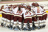 - The Boston College Eagles defeated the visiting Harvard University Crimson 6-2 on Sunday, December 5, 2010, at Conte Forum in Chestnut Hill, Massachusetts.