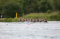 Race: 140  8+ (Band 1)  Final<br /> <br /> Peterborough Summer Regatta 2018 - Sunday<br /> <br /> To purchase this photo, or to see pricing information for Prints and Downloads, click the blue 'Add to Cart' button at the top-right of the page.