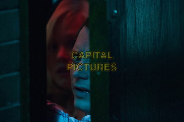 COOTIES (2014)<br /> Lucy (Alison Pill) and Clint (Elijah Wood) <br /> *Filmstill - Editorial Use Only*<br /> CAP/FB<br /> Image supplied by Capital Pictures
