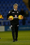 John Ward, acting manager of Walsall - Football - Sky Bet Division 1 - Shrewsbury Town vs Walsall - Greenhous Meadow Shrewsbury - December 1st  2015 - Season 2015/2016 - Photo Malcolm Couzens/Sportimage