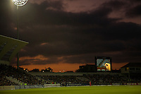 15 Sept 2009; Nottingham England: A general evening view of the Nat West, 5th one day international cricket match between England and Australia held at Trent Bridge cricket ground. Australia are leading the best of 7 match series 4 - 0 : Mandatory Credit Mitchell Gunn