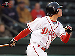 April 3, 2008: Josh Reddick of the Greenville Drive, Class A affiliate of the Boston Red Sox, during the season opener against the Kannapolis Intimidators at Fluor Field at the West End in Greenville, S.C. Photo by:  Tom Priddy/Four Seam Images