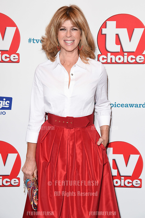 LONDON, UK. September 10, 2018: Kate Garaway at the TV Choice Awards 2018 at the Dorchester Hotel, London.<br /> Picture: Steve Vas/Featureflash