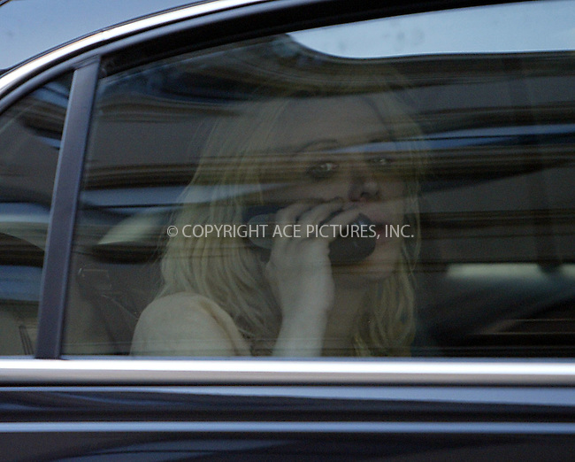 Rocker Courtney Love pictured arriving back to her Manhattan apartment after making an appearance on 'Howard Stern Show.' It is rumored that earlier this morning Love was taken to the Show by two photographers (in their car) who were waiting to photograph her. New York, March 22, 2004. Please byline: ACE Pictures.   ..*PAY-PER-USE*      ....IMPORTANT: Please note that our old trade name, NEW YORK PHOTO PRESS (NYPP), is replaced by our new name, ACE PICTURES. New York Photo Press and ACE Pictures are owned by All Celebrity Entertainment, Inc.......All Celebrity Entertainment, Inc:  ..contact: Alecsey Boldeskul (646) 267-6913 ..Philip Vaughan (646) 769-0430..e-mail: info@nyphotopress.com