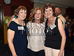Mary Monaghan, Noleen Balfe and Deirdre Ward MP at the Ardee CS Leaving Cert Class of 1976 reunion in Ardee Golf Club. . Photo:Colin Bell/pressphotos.ie