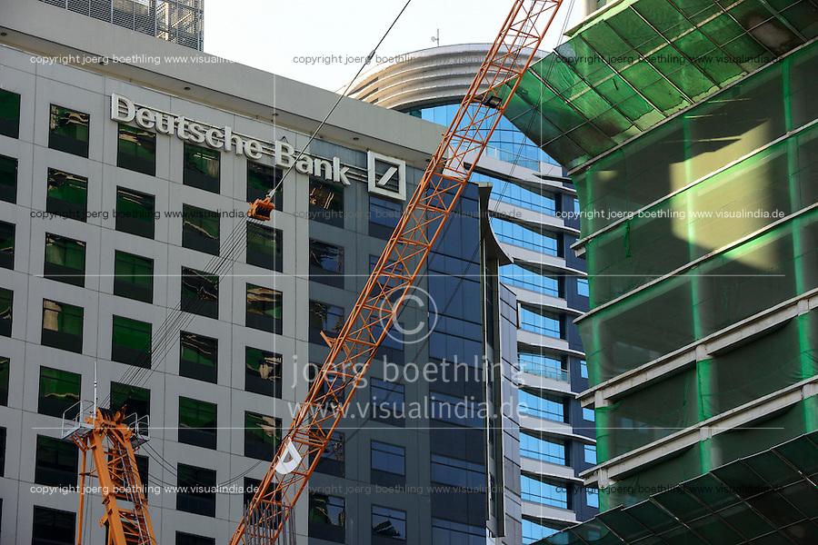 PHILIPPINES, Manila, Bonifacio Global City, Taguig City, callcenter BPO of Deutsche Bank / PHILIPPINEN, Manila, Bonifacio Global City, Taguig City, callcenter und BPO Business Process Outsourcing der Deutschen Bank