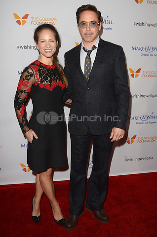LOS ANGELES, CA - DECEMBER 07: Susan Downey and Robert Downey Jr. at the 4th Annual Wishing Well Winter Gala on December 07, 2016 in Los Angeles, California. Credit: David Edwards/MediaPunch