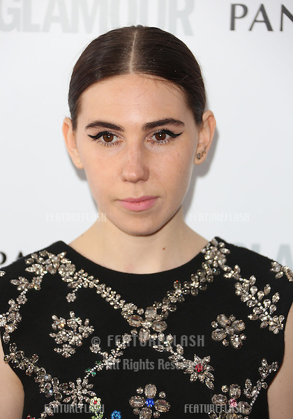 Zosia Mamet arriving for the 013 Glamour Women of The Year Awards, Berkeley Square, London. Picture by: Henry Harris / Featureflash