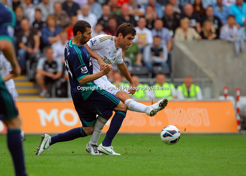Saturday, 01 September 2012<br /> Pictured: Danny Graham<br /> Re: Barclays Premier League, Swansea City FC v Sunderland at the Liberty Stadium, south Wales.