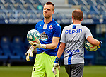 Aleksandar Jovanovic (RC Deportivo de la Coruna) warms up before La Liga Smartbank match round 39 between Malaga CF and RC Deportivo de la Coruna at La Rosaleda Stadium in Malaga, Spain, as the season resumed following a three-month absence due to the novel coronavirus COVID-19 pandemic. Jul 03, 2020. (ALTERPHOTOS/Manu R.B.)