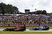 Verizon IndyCar Series<br /> Honda Indy 200 at Mid-Ohio<br /> Mid-Ohio Sports Car Course, Lexington, OH USA<br /> Sunday 30 July 2017<br /> Mikhail Aleshin, Schmidt Peterson Motorsports Honda Max Chilton, Chip Ganassi Racing Teams Honda<br /> World Copyright: Michael L. Levitt<br /> LAT Images