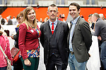 24/05/2014<br /> Sinn Fein Local candidates Lisa Marie Sheehy, Maurice Quinlivan and Seighin O Ceallaigh pictured at the Limerick Count Centre.<br /> Pic: Don Moloney/Press 22