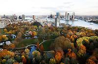 Rotterdam- Herfst in Het Park bij de Euromast