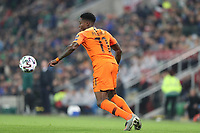 16th November 2019; Windsor Park, Belfast, County Antrim, Northern Ireland; European Championships 2020 Qualifier, Northern Ireland versus Netherlands; Netherland's Quincy Promes brings the ball under his control - Editorial Use
