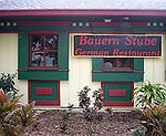 Bauren Stube German Restaurant, Orlando, Florida