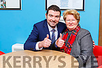 Brendan Griffin gave his mother the best birthday present at the count in Killarney on Monday evening