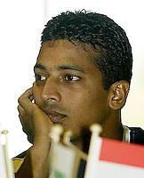 20030918, Zwolle, Davis Cup, NL-India, MAHESH BHUPATHI.