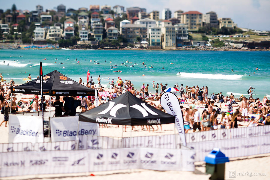 The 2011 Boost Mobile Surf Sho is Australia's premier aerial surfing competition. The event was held at Bondi Beach on the 11-13 March 2011.