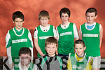 Community Games Indoor Soccer U13's: Taking part in the indoor soccer U13's  qualifiers at the Community Centre, Listowel on Sunday were  the .team representing Ballydonoghue were : Conor Carthy, John Scully& Jack Behan. Back: Brian Mason, Michael Dee, Cian Mahony & Kieran O'Connell