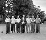 Little Island Golf team win at Killarney Golf Club in 1952<br /> Picture by Daniel MacMonagle