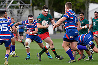 LEVIN, NEW ZEALAND - OCTOBER 28: Robbie Anderson of Wairarapa in action during the Lochore Cup Final match between Horowhenua Kapiti and Wairarapa Bush at Levin Domain on October 28, 2018 in Levin, New Zealand. <br /> Photo by Masanori Udagawa. <br /> www.photowellington.photoshelter.com