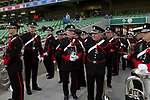 Republic of Ireland 5  Northern Ireland 0, 24/05/2011. Aviva Stadium, Carling Nations Cup. Members of the ceremonial band waiting underneath the stands at the Aviva Stadium in Dublin before the Republic of Ireland took on Northern Ireland in a 2011 Carling Nations Cup game. The Republic won the game by 5 goals to 0. The multi-sports venue was originally known as Lansdowne Road and was reopened in 2010 after it was completely redeveloped. Photo by Colin McPherson.