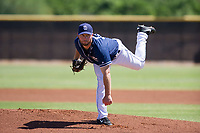 San Diego Padres pitcher Robbie Erlin (41) follows through on his delivery during an Instructional League game against the Texas Rangers on September 20, 2017 at Peoria Sports Complex in Peoria, Arizona. (Zachary Lucy/Four Seam Images)