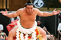 FILE - Sumo Champion Harunofuji questioned by police regarding assault