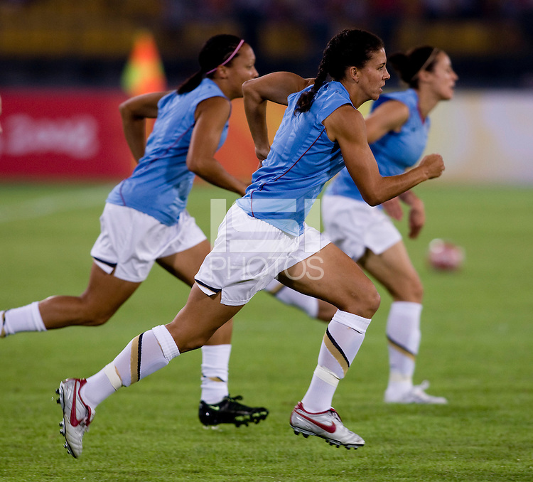 Shannon Boxx. The USWNT defeated Japan, 4-2, during the semi-finals of the Beijing 2008 Olympics in Beijing, China.