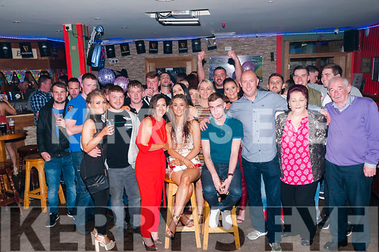 21st Birthda : Shiannah Enright, Listowel celebrating her 21st birthday with family & friends at Christy's Bar, Listowel On Saturday night last.
