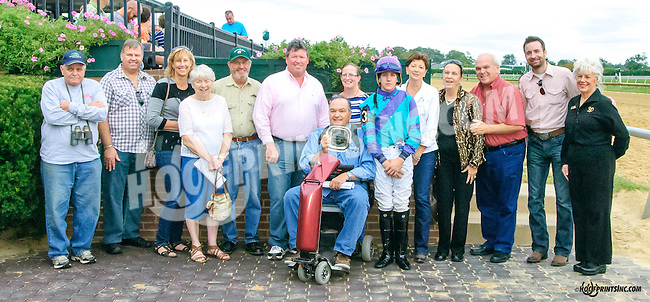 Take It Inside winning in at Delaware Park on 9/25/15