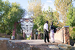 The 1911 Trestle bridge, a historic landmark in downtown Boise, Idaho