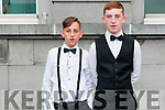 Wren Boy Night : Attending the Wren boy competition during Listowel Race Week on Friday night last were Shane Lawson-Ahern & Conor Costello, Listowel.